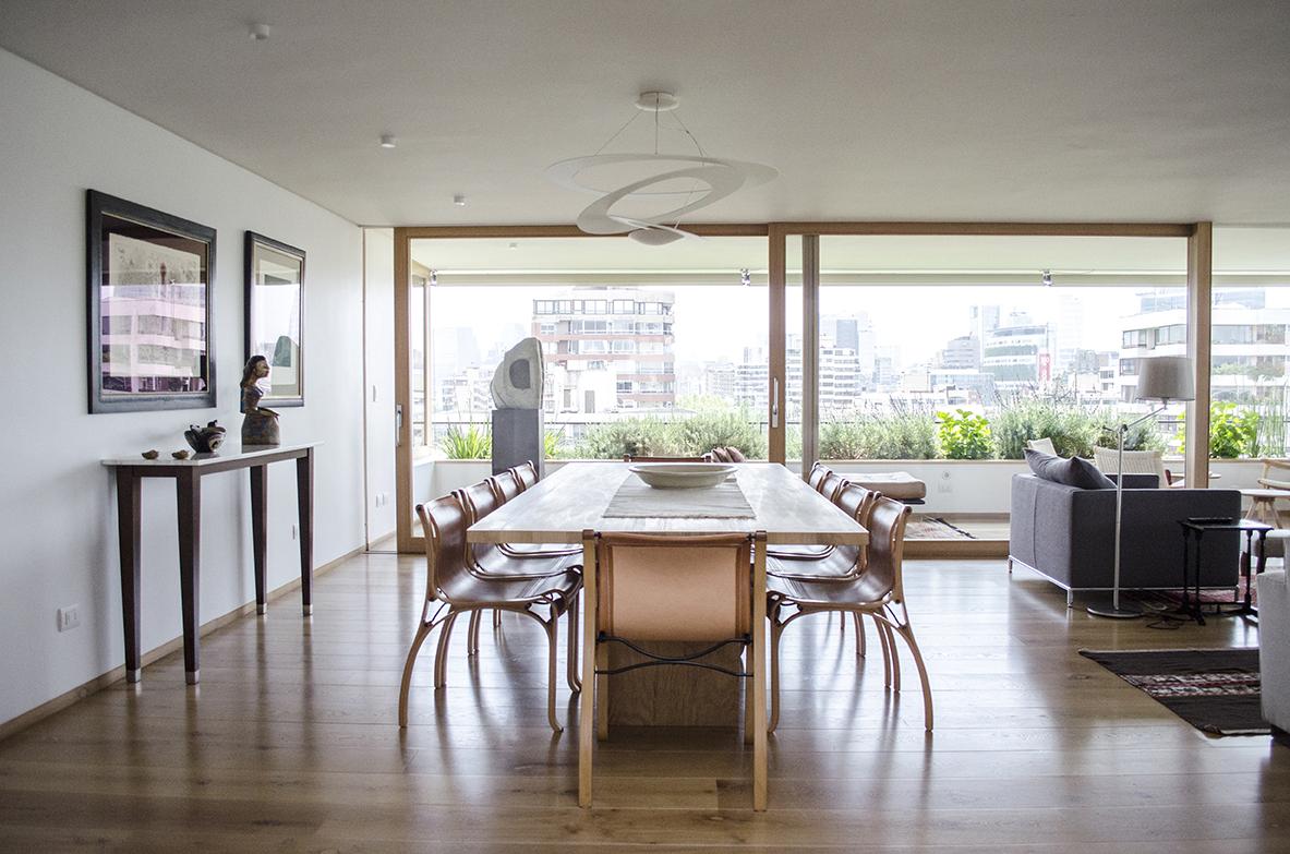 Decoración de Interior y arquitectura Espacio Gracia - Departamento Carmen Silva