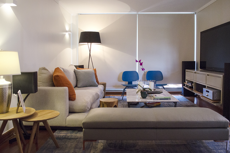 Decoración de interior - Proyecto departamento isabel montt