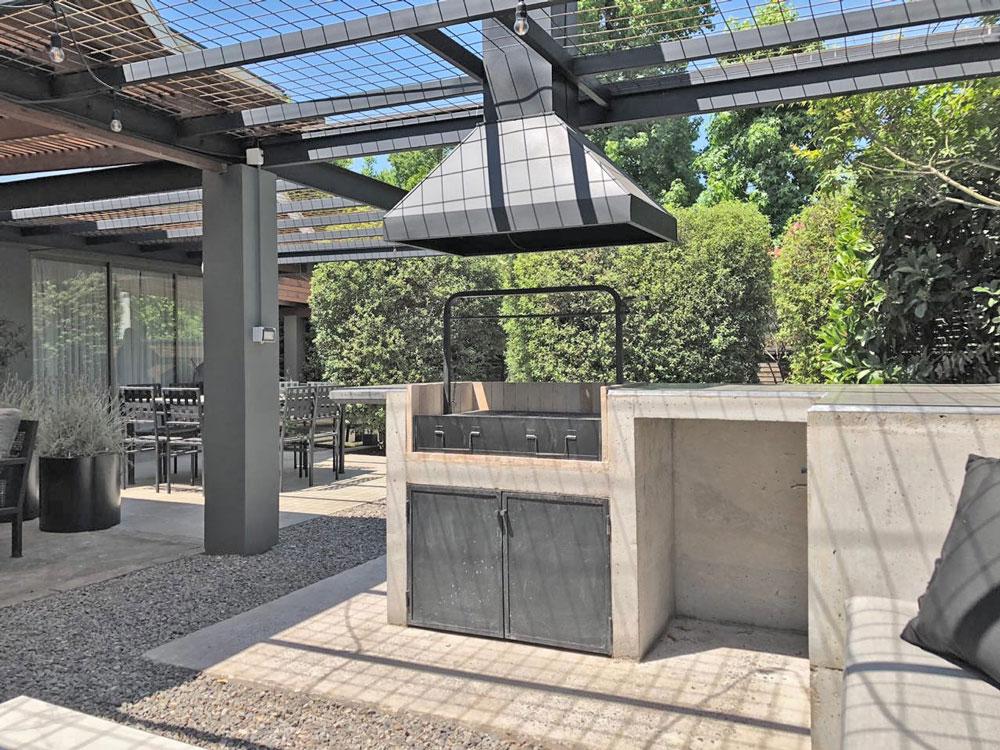 Interiorismo - Proyecto Quincho Candelaria